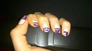 mon 1er nail art